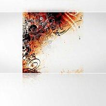 LanaKK - Jungledrum RS Silber - Fototapete