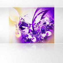 LanaKK - Lightning Lila - Fototapete Poster-Tapete