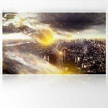 LanaKK - Meteoriten - Fototapete Poster-Tapete - edler Kunstdruck auf Vliestapete in 300x180 cm