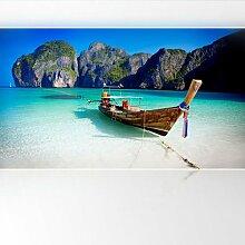 LanaKK - Paradies - Fototapete Poster-Tapete - edler Kunstdruck auf Vliestapete in 420x240 cm