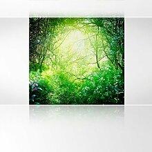 LanaKK - Sunlight - Fototapete Poster-Tapete - edler Kunstdruck auf Vliestapete in 180x180 cm