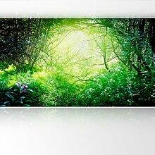 LanaKK - Sunlight - Fototapete Poster-Tapete - edler Kunstdruck auf Vliestapete in 420x240 cm