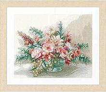 Lanarte Kreuzstichset Blumenstrauß,