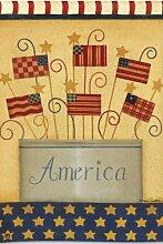 Land, das ich liebe Garden Flag