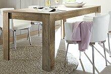 LAND Palma Tisch 137cm mit Optionale Ansteckplatte, Holz, Canyon Oak, 137 x 90 x 79 cm