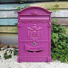 Landhaus-Briefkasten, europäischer Briefkasten