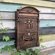 Landhaus-Briefkasten-Retro- Briefkasten mit