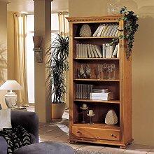 Landhaus Bücherregal aus Fichte Massivholz