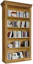 Landhaus Bücherregal aus Kiefer Massivholz