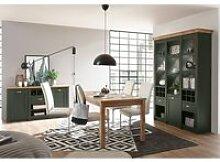 Landhaus Esszimmer-Set Buffet, Anrichte & Esstisch