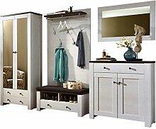 Landhaus Garderobenprogramm Set 310 x 200 x 40