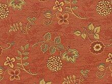 Landhaus Möbelstoff Ellmau Farbe 40 (rot-braun,
