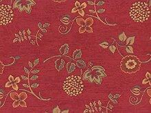 Landhaus Möbelstoff Ellmau Farbe 52 (rot) mit
