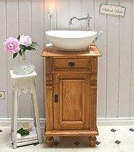 Landhaus-Waschtisch Gäste WC Bad | Unterschrank