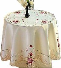 Landhausstil Handgemachte Tischdecke Runde
