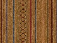 Landhausstil Möbelstoff Como Streifen mit Fleckschutz Farbe gold (gelb, ocker) - Flachgewebe (Geometrisch, Streifen), Polsterstoff, Stoff, Bezugsstoff, Eckbank, Couch, Sessel, Hussen, Kissen