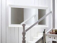 Landhausstil Spiegel weiß 100x200 cm Halifax
