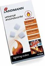 Landmann Universal Anzuendwuerfel 12 Stueck,