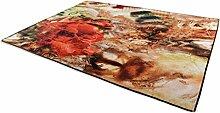 Landschaft Abstrakt Kunst Wohnzimmer Teppichboden Schlafzimmer Bett Decke Einfach Modern Home Teppich Staubabsaugung