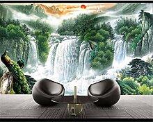 Landschaft Wasserfälle Tapete Wohnzimmer
