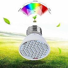 Landsell LED wachsen Pflanzen-Lichter-Lampe, 36 LED E27 4W Treibhaus-gl¨¹hende Beleuchtung Volles Spektrum f¨¹r Innen-Hydroponik Pflanzen-Gem¨¹se-Blume