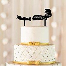 Landung bald Cake Topper, Flugzeug Cake Topper,