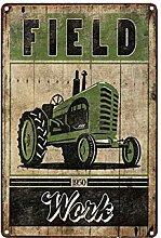 Landwirtschaft Bauernhof Traktoren Metall Zinn