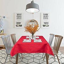 Laneetal Tischdecke Tischtuch Damast Streifen