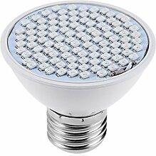 Lang Boss Wasserdicht 6W SMD 3528106LEDs E27Full Spectrum LED Grow Leuchtmittel Licht Hydrokultur Pflanze Lampe