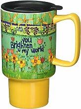 Lang Brighten My World Travel Mug by Stephanie