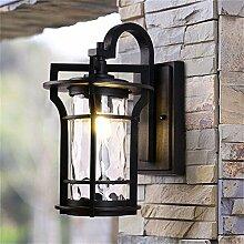 Lange Licht europäischen Außenwand Lampe Gang Balkon Korridor Retro Wandleuchte wasserdicht Outdoor Villa Garten Garten Beleuchtung , big