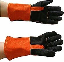 Lange Schweißen Handschuhe, Schweißer Handschuhe