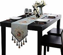 Lange Tischdecke Spitze Material Für TV Kabinett