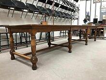 Langer industrieller Vintage Esstisch