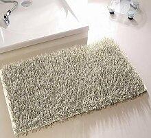 Langflor Zottel Teppich für Bad und Wohnraum