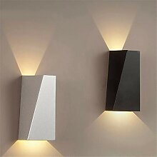 LANGNY Aluminium warmes Licht, 6w weiß