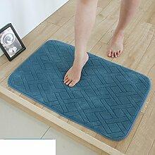 Langsame Erholung Saugfähigen Sanitär Mat,Fußabtreter,Bad Küche Schlafzimmer Mat,Wasserdichte Pad,Foot Pad-F 40x120cm(16x47inch)