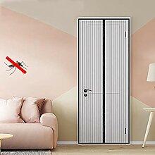 240 YOLE Fliegengitter T/ür Insektenschutz Magnet Fliegenvorhang 70 Klebmontage ohne Bohren 220-150 Vorhang f/ür Balkont/ür Wohnzimmer Schiebet/ür Terrassent/ür