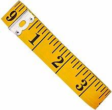 Tailor s Ma/ßband/?/150/cm//152,4/cm/?/doppelseitig mit cm und Zoll Pink