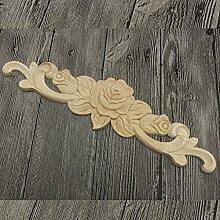 LanLan Applikationen Woodcarving Aufkleber Gummi