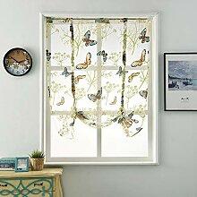 LanLan Fensterdekoration Schmetterlingsmuster