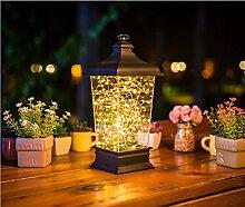 LanLan Feurige Bäume & Silberne Blumen LED