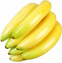 Lanlan für Home House Küche Dekoration Künstlich Realistische Fruits Fake Apple Pfirsich Zitrone Bananen Ananas