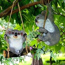 LanLan Gartendeko Nette Harz Simulations Koala