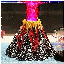 Lanlan Volcano Pflanzen Dekoration Bubble Wasser Fairy Aquarium Landschaft Volcanic Stone