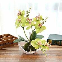 LanLan Zimmerpflanzen Bonsai 3 Zweig simulieren