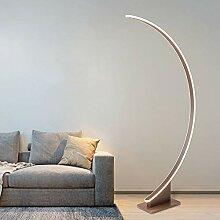 LANMOU Bogenlampe LED Modern Wohnzimmer Stehlampe