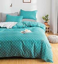 - geeignet f/ür 0,9 m Bett Kinder-Dinosaurier-Design-Bettw/äsche-Sets umfassen Bettbezug-Kissen 135x200 cm Einzelbett ideal f/ür Kinderzimmer Design 1