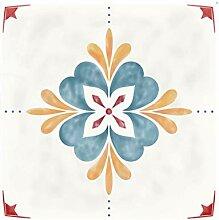 Lanrue Bodenfliesen-Aufkleber, 20 Stück,