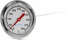 Lantelme 500 °C Grad, 50 cm, Bimetall, Backofen,